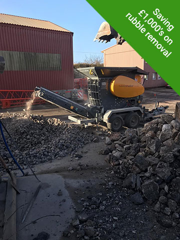 Concrete Crushing Devon